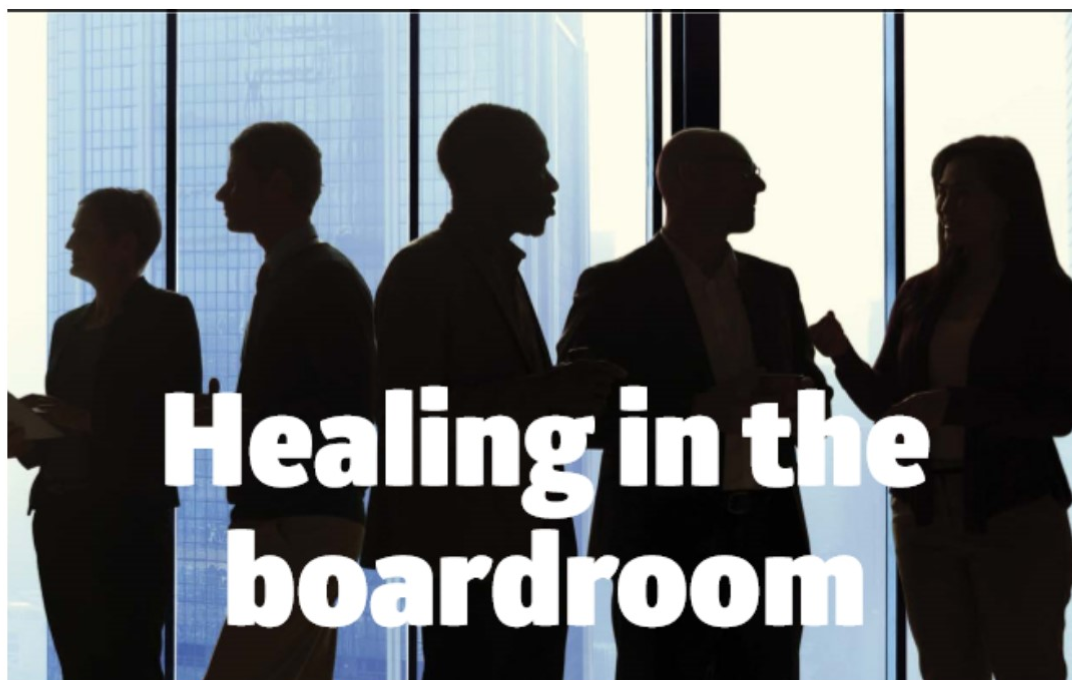 Healing in boardroom png